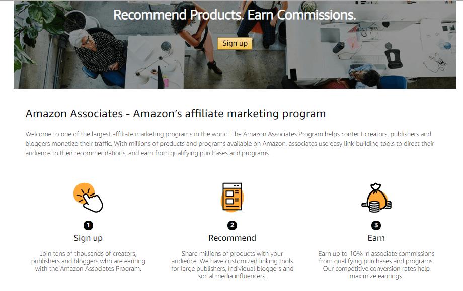 Партнёрская программа Amazon Associates