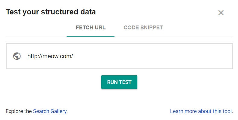 Go to Google Structured Data Testing Tool to test your rich snippets