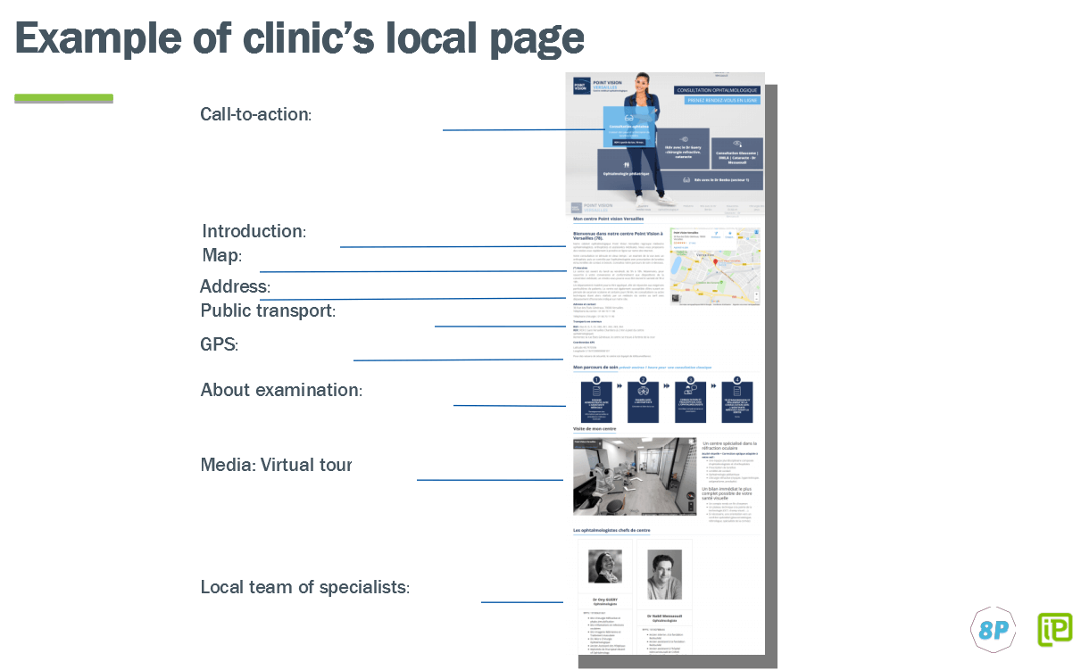 Example of local page