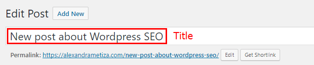 WordPress SEO: Title Optimization
