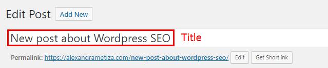 WordPress SEO: Title Optimization