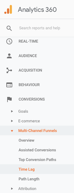 Conversion window in Google Analytics