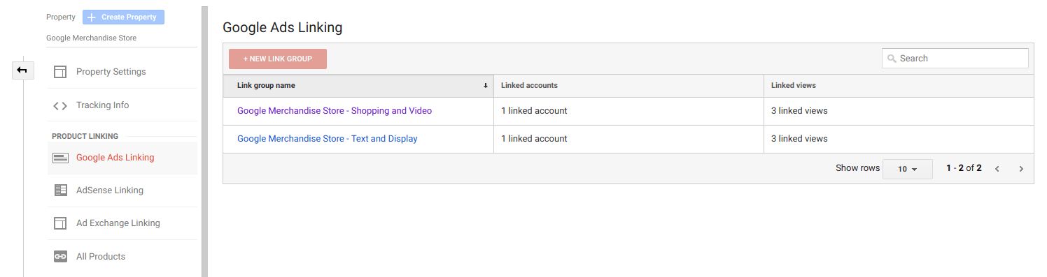 Linking Google Ads and Google Analytics
