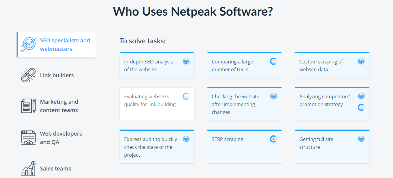 Who uses Netpeak Software