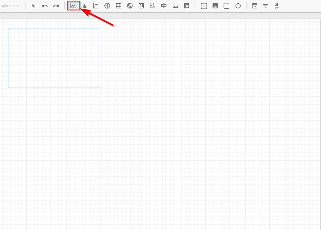Choosing line chart