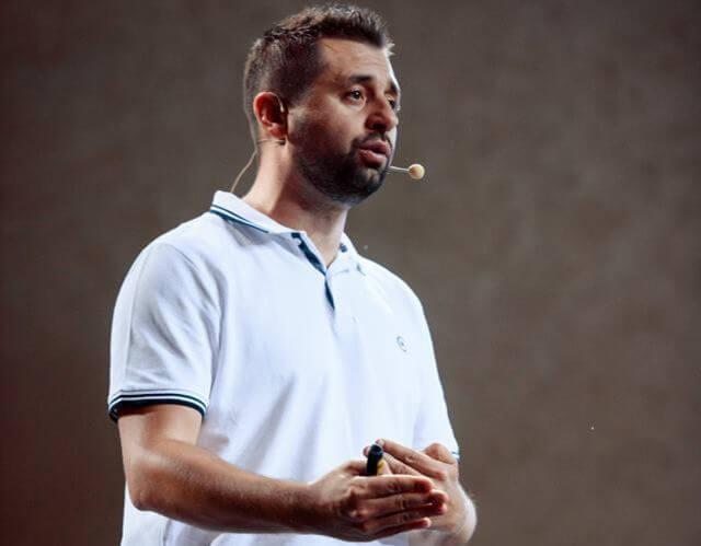 David Braun at 8P conference