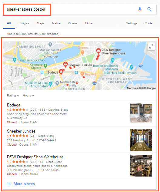 Social Media Integration: Google's Local Listings