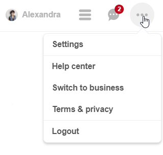 Social Media Integration: Switching Between Personal and Business Account in Pinterest
