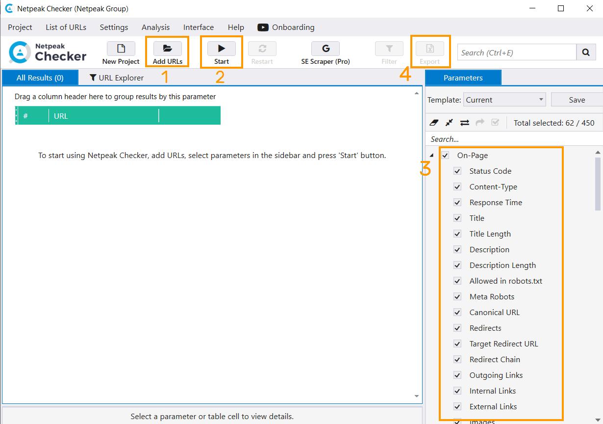 Netpeak Checker Scanning Launch