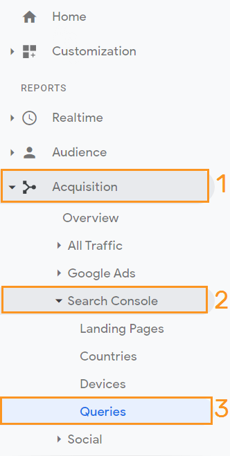 How to see CTR in Google Analytics