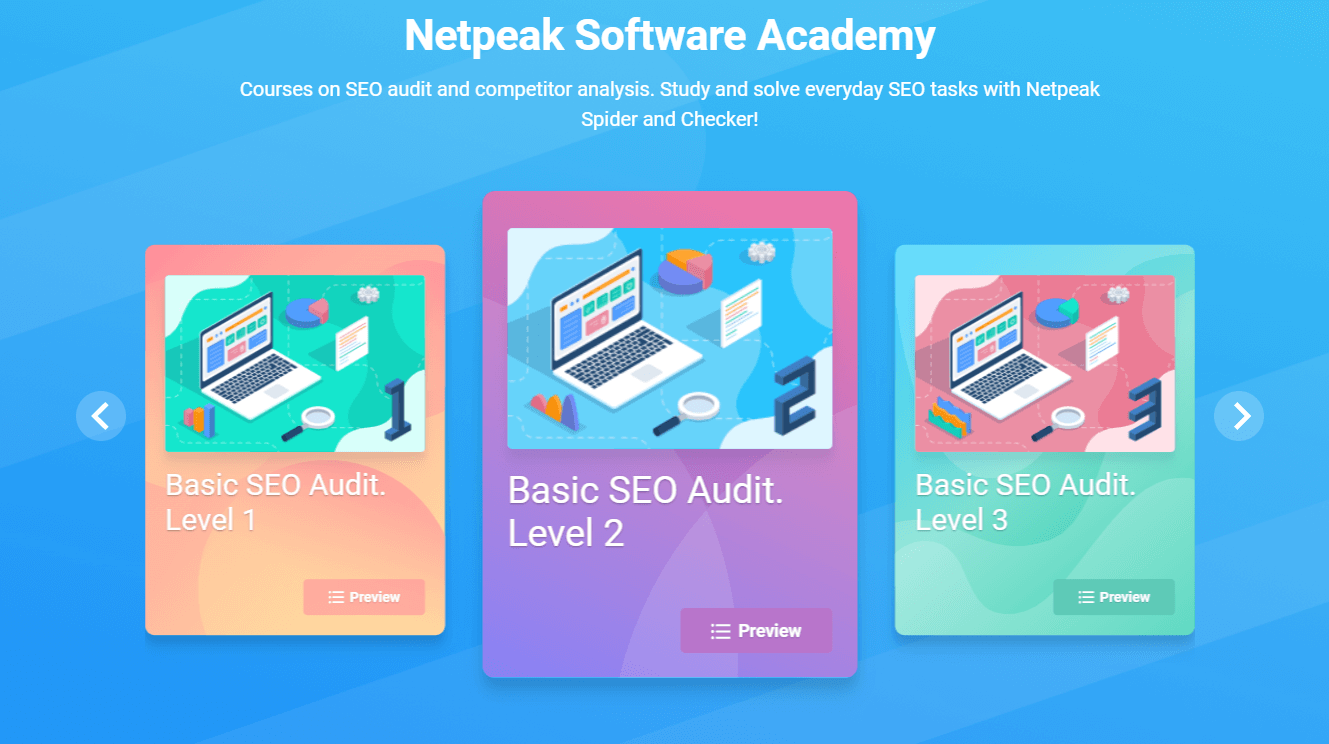 Netpeak Software Academy
