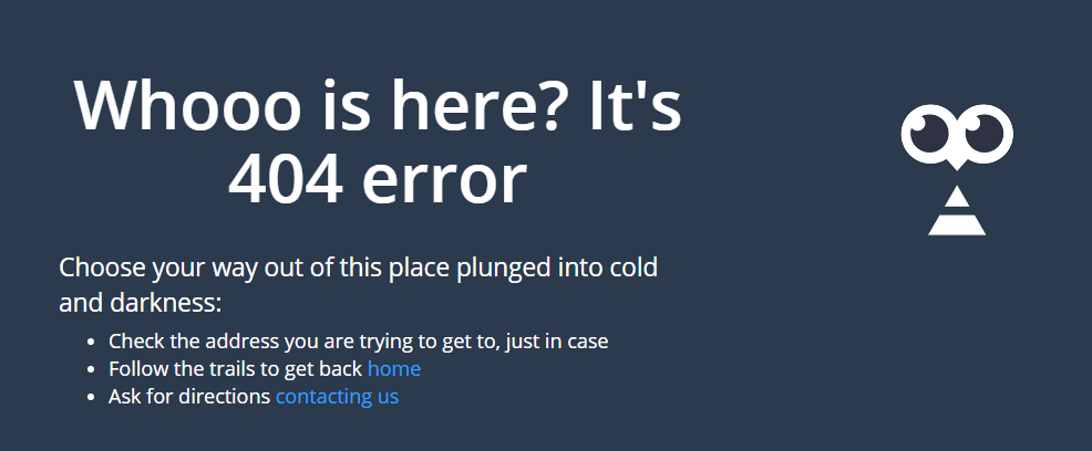 If everything is set right on the technical side of the website, the user will see a 404 or 410 error
