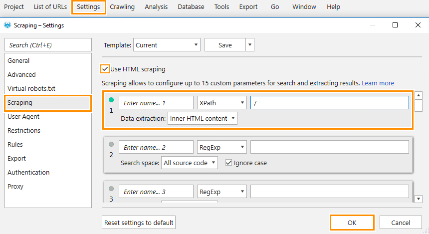 Using Xpath to check the source code
