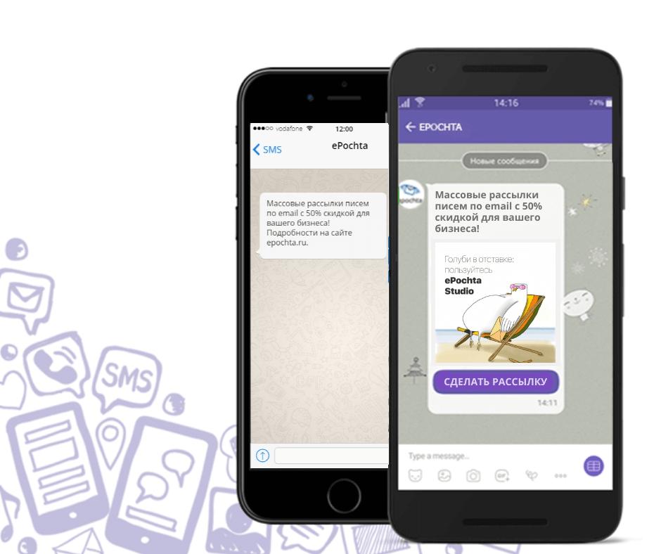 SMS на телефон тем, кто не открыл сообщение в течение указанного времени в Viber