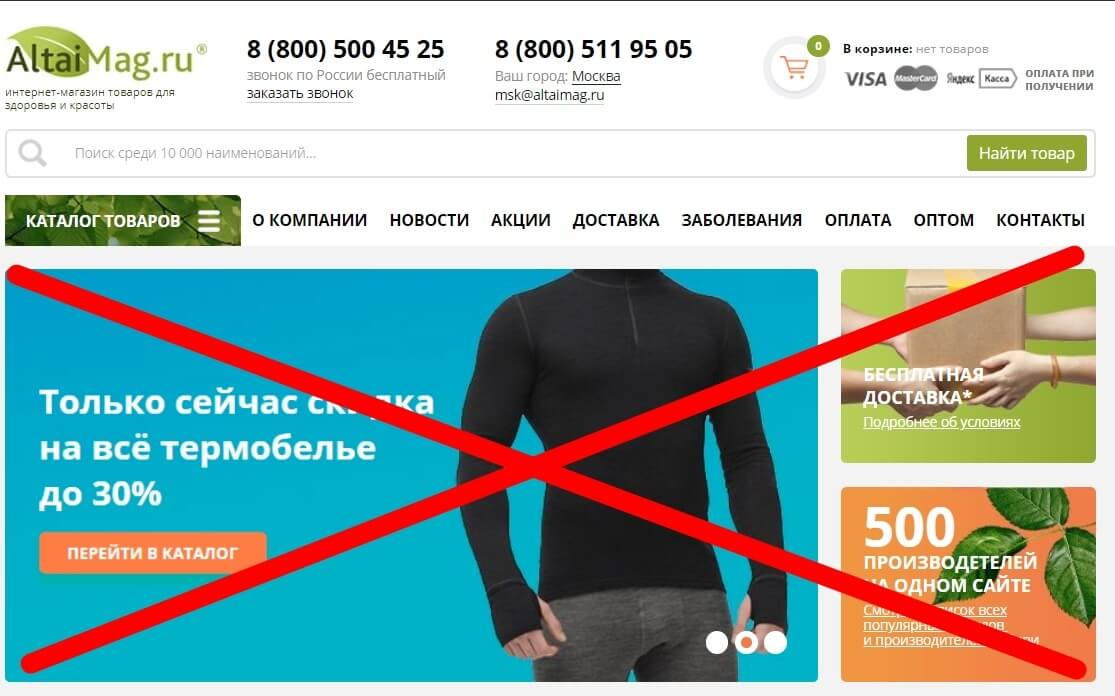 98747207cd2a4 8 ошибок, которые снижают продажи интернет-магазинов – Блог Netpeak ...