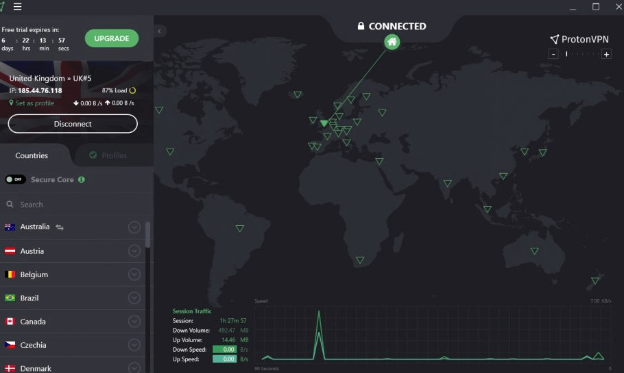 VPN-сервис ProtonVPN
