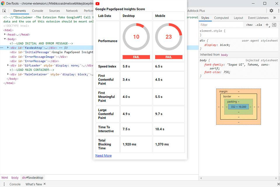 Google PageSpeed Insights — сервис для оптимизации изображений
