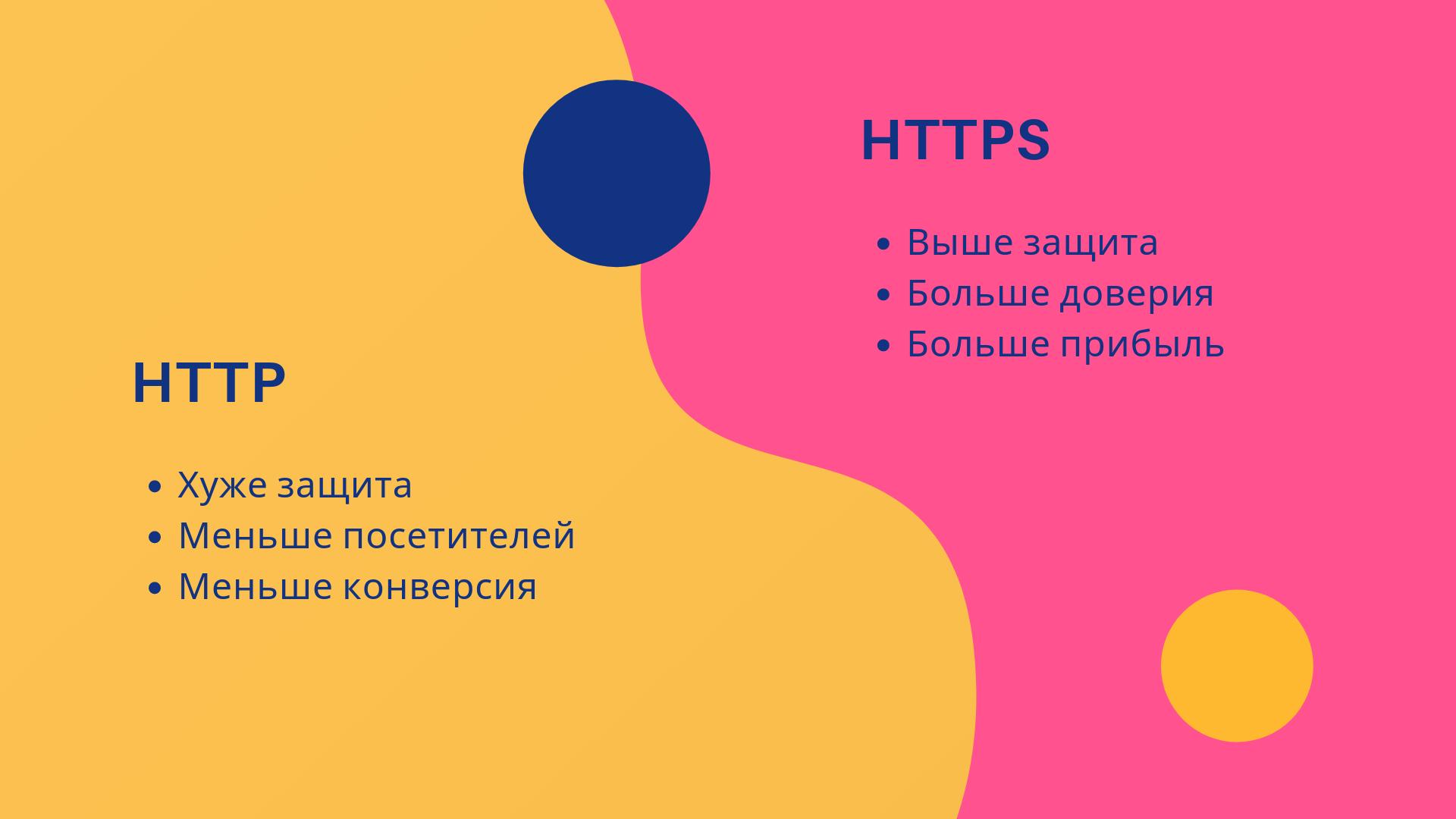 Преимущества протокола HTTPS