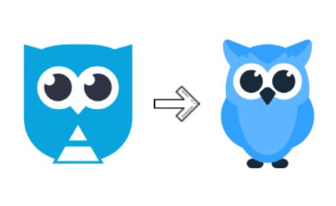 Вот какую трансформацию мы провели для нашей совы в Netpeak Software