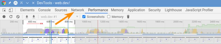 Узнать объём страниц и CSS в сжатом виде можно во вкладке Network.