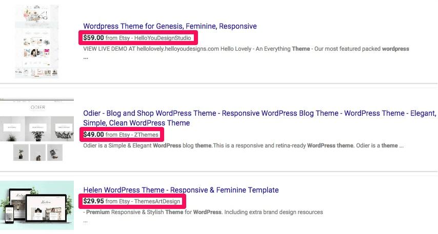 Ошибки GA: темы WordPress
