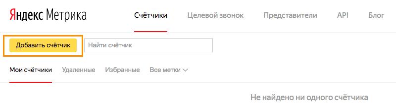 Wordpress SEO: счётчик в Яндекс.Метрика